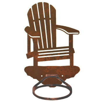 Adirondack Chair Metal Bath Towel Ring