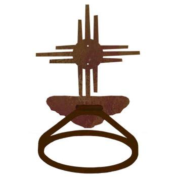 New Mexico Sun Metal Bath Towel Ring