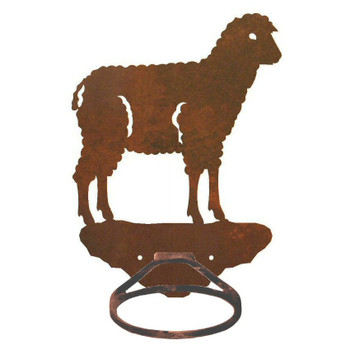 Sheep Metal Bath Towel Ring