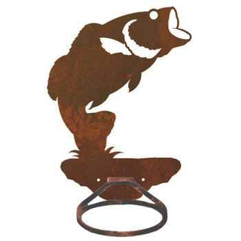 Bass Fish Metal Bath Towel Ring