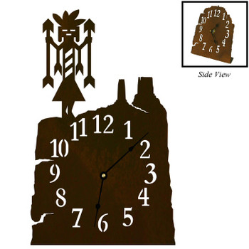 Yei Metal Table Clock