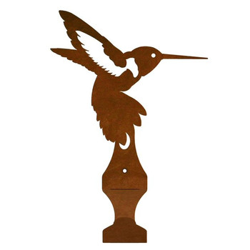 Hummingbird Metal Drape Rod Holders