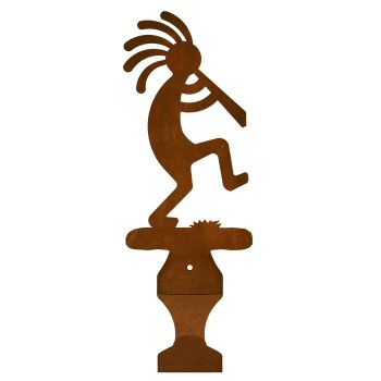 Kokopelli Metal Drape Rod Holders