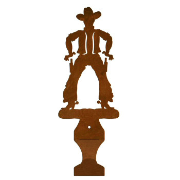 Cowboy Metal Drape Rod Holders