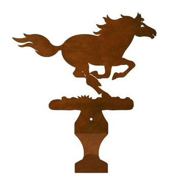 Running Horse Metal Drape Rod Holders