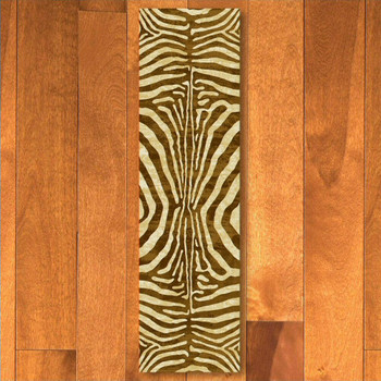 2' x 8' Senegal Caramel Rectangle Runner Rug