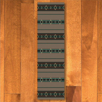 2' x 8' Old Timer Turquoise Southwest Rectangle Runner Rug