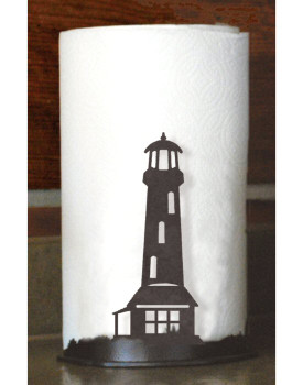 Lighthouse Metal Paper Towel Holder