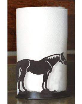 Bay Horse Metal Paper Towel Holder
