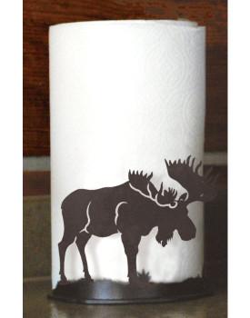Moose Metal Paper Towel Holder
