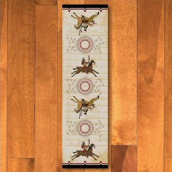2' x 8' War Records Southwest Rectangle Runner Rug