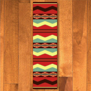 2' x 8' Scout Fiesta Southwest Rectangle Runner Rug