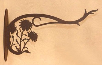 Daisy Flowers Metal Wall Plant Hanger