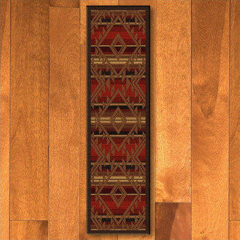 2' x 8' Spirit of Santa Fe Southwest Rectangle Runner Rug