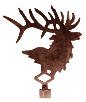Elk Metal Lamp Finial