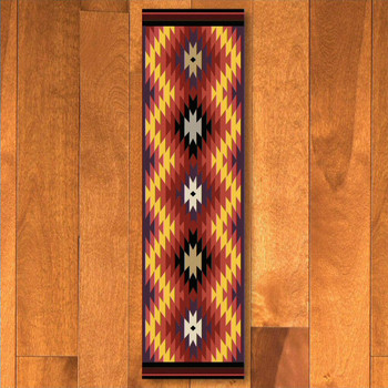 2' x 8' Starburst Bright Southwest Rectangle Runner Rug