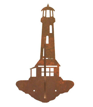 Lighthouse Double Metal Wall Hook