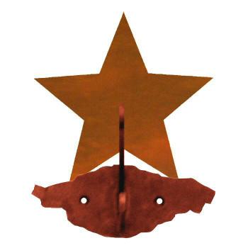 Eastern Star Double Metal Wall Hook