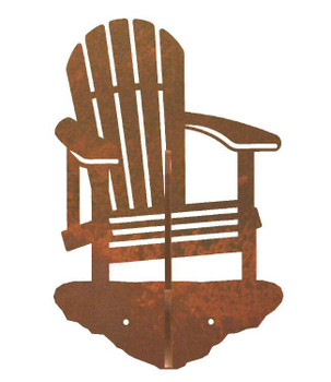 Adirondack Chair Double Metal Wall Hook