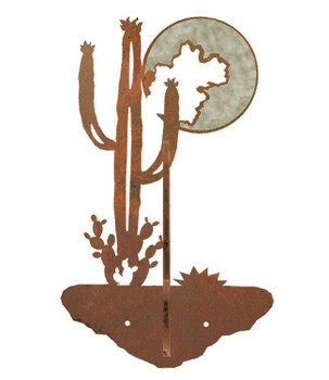 Burnished Desert Moon Double Metal Wall Hook