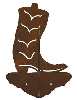 Cowboy Boot Double Metal Wall Hook