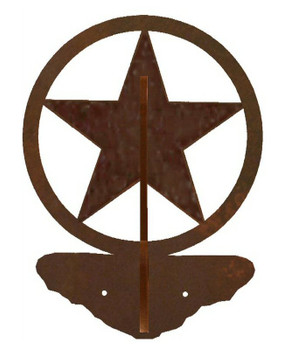 Texas Star Double Metal Wall Hook