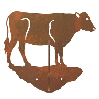 Cow Double Metal Wall Hook