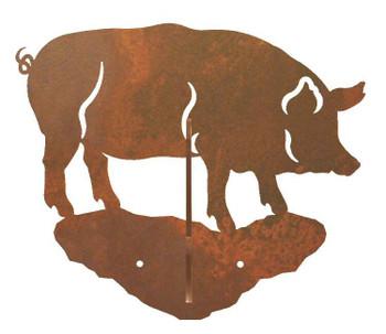 Pig Double Metal Wall Hook