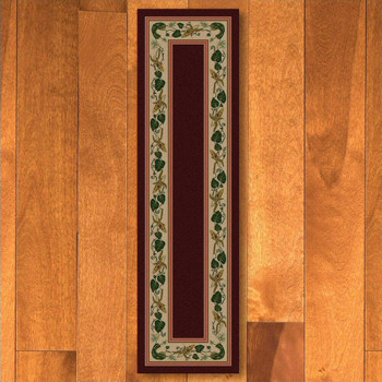 2' x 8' Three Sisters Garnet Cherokee Inspired Rectangle Runner Rug