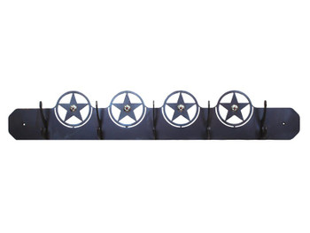 Texas Star Five Hook Metal Wall Coat Rack