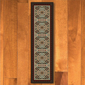 2' x 8' Butte Southwest Rectangle Runner Rug
