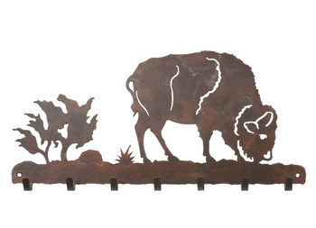 Buffalo Metal Wall Key Rack