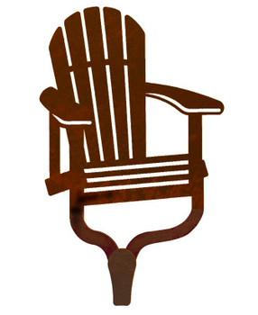 Adirondack Chair Large Single Metal Wall Hook