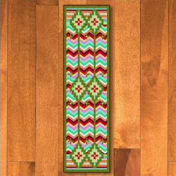 2' x 8' Shake Your Shawl Bright Southwest Rectangle Runner Rug