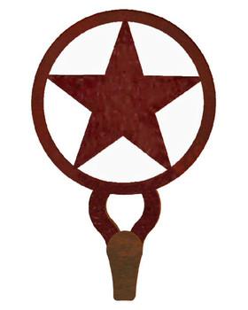 Texas Star Large Single Metal Wall Hook