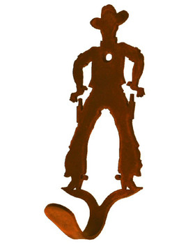 Cowboy Small Single Metal Wall Hook