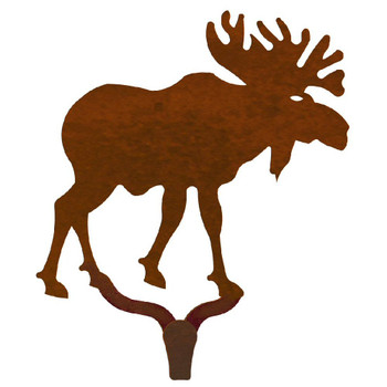 Original Moose Large Single Metal Wall Hook