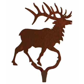 Original Elk Large Single Metal Wall Hook