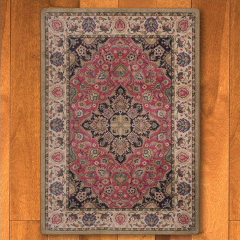 3' x 4' Montreal Rosette Persian Style Rectangle Scatter Rug