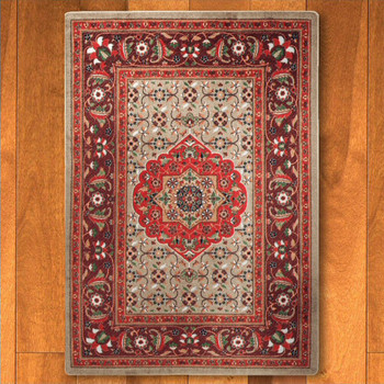 3' x 4' Bristol Blaze Persian Style Rectangle Scatter Rug