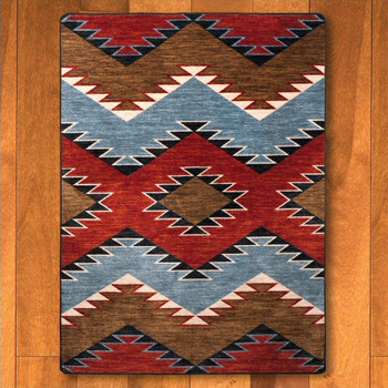 3' x 4' Heritage Multi Southwest Rectangle Scatter Rug