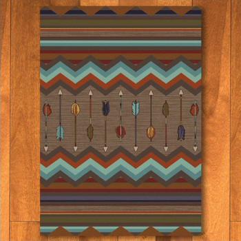 3' x 4' Cresting Fletcher Rainbow Southwest Rectangle Scatter Rug
