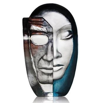 Limited Edition Female Masq Benghali Minor Sculpture by Mats Jonasson