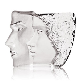 Limited Edition Together Masq Etched Sculpture by Mats Jonasson