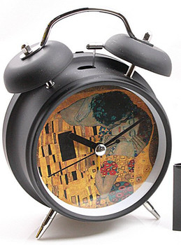 The Kiss Museum Bell Alarm Clock by Klimt