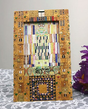 Klimt Pattern from Stoclet Frieze Photo Frame