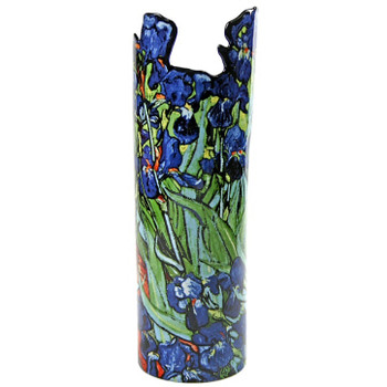 Irises Ceramic Vase by Van Gogh