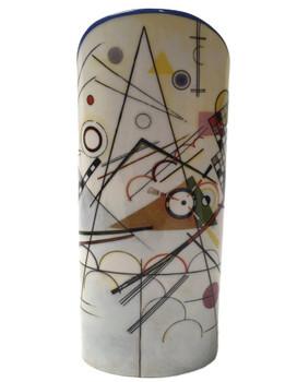 Kandinsky Modern Art Ceramic Vase by Kandinsky