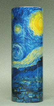 Starry Night Ceramic Vase by Van Gogh