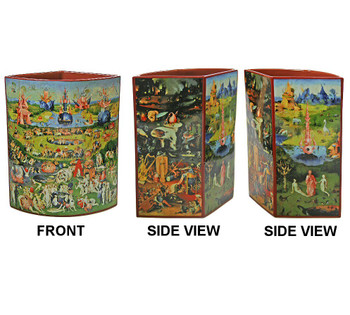 Garden of Earthly Delights Ceramic Vase by Bosch